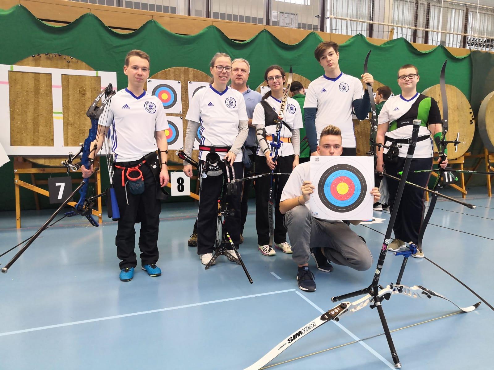 DBSV Sachsenmeisterschaften 2020 in der Halle in Döbeln