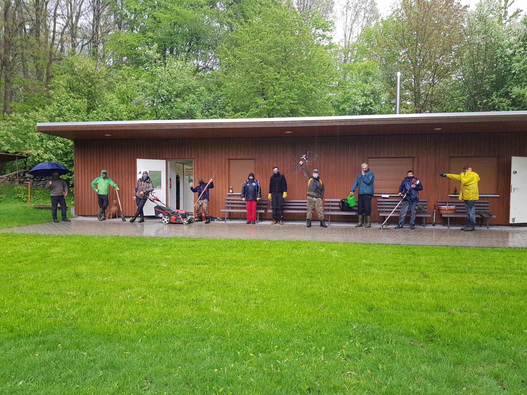 Wiederinbetriebnahme des Bogensportplatzes
