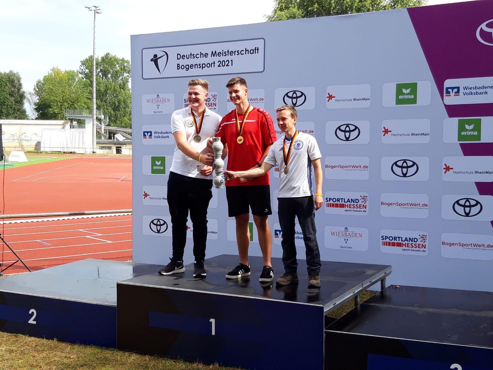 Jonathan Gräfe holt Bronze bei den Deutschen Meisterschaften des DSB